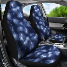 Load image into Gallery viewer, Blue Starry Sky Nebula Galaxy Stars Galactic Car Seat Covers