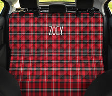 Load image into Gallery viewer, Zoey Custom Pet Car Bench Back Seat Cover