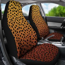 Load image into Gallery viewer, Cheetah Print Ombre Car Seat Covers Animal Print