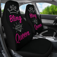 Load image into Gallery viewer, Bling Queen Car Seat Covers Seat Protectors