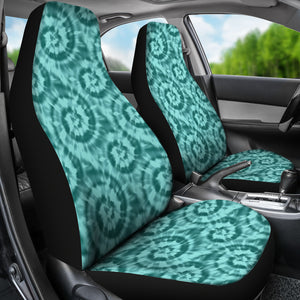 Turquoise Tie Dye Car Seat Covers Seat Protectors