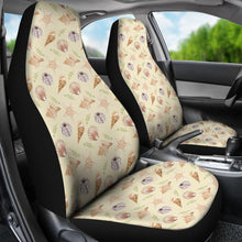 Load image into Gallery viewer, Sand With Sea Shell Pattern Car Seat Covers