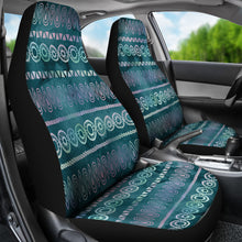 Load image into Gallery viewer, Boho Watercolor Iridescent Ethnic Pattern Car Seat Colors