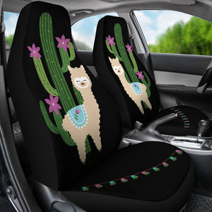 Young Brown Alpaca Car Seat Covers
