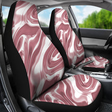 Load image into Gallery viewer, Rose Gold Liquid Metal Car Seat Covers