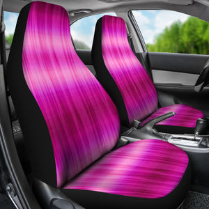 Hot Pink Tie Dye Car Seat Covers