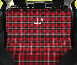 Lily Custom Pet Back Bench Seat Cover