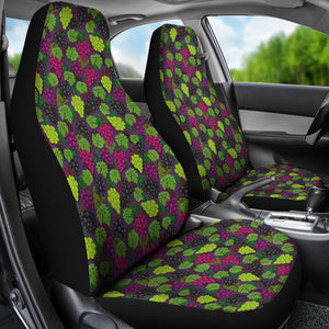Purple, Red and Green Grapes Car Seat Covers
