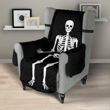 "Load image into Gallery viewer, Skeleton Armchair Slipcover Protective Cover Fits Up To 23"" Seat Width"