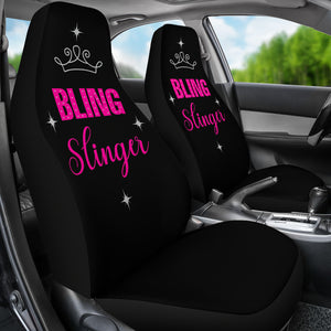 Bling Slinger Car Seat Covers Pink