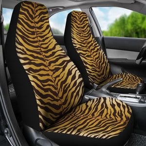Tiger Stripe Car Seat Covers