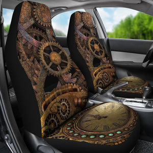 Clock Car Seat Covers
