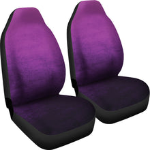 Load image into Gallery viewer, Purple Ombre Watercolor Car Seat Covers