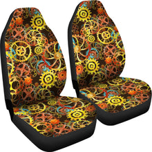 Load image into Gallery viewer, Steampunk Gear Pattern Car Seat Covers