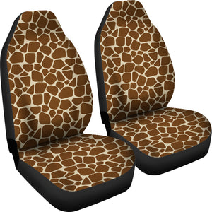 Giraffe Car Seat Covers Animal Print