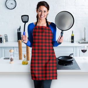 Red Buffalo Plaid Women's Apron