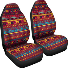 Load image into Gallery viewer, Colorful Ethnic Pattern Car Seat Covers Red, Blue and Yellow