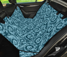 Load image into Gallery viewer, Teal Tie Dye Pet Back Seat Cover