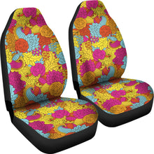 Load image into Gallery viewer, Colorful Abstract Pattern Car Seat Covers