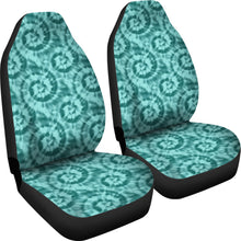 Load image into Gallery viewer, Turquoise Tie Dye Car Seat Covers Seat Protectors