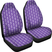 Load image into Gallery viewer, Purple Essential Oil Bottles Car Seat Covers