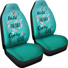 Load image into Gallery viewer, Wild Heart Gypsy Soul Ombre Car Seat Covers