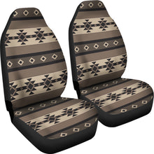 Load image into Gallery viewer, Neutral Colored Tribal Boho Pattern Car Seat Covers Aztec Ethnic