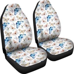 Watercolor Butterfly Seat Covers