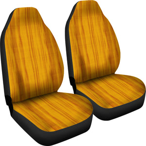 Yellow and Orange Tie Dye Car Seat Covers