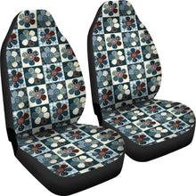 Load image into Gallery viewer, Patchwork Style Flower Pattern Car Seat Covers