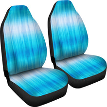 Load image into Gallery viewer, Blue Tie Dye Car Seat Covers