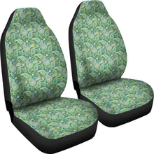 Load image into Gallery viewer, Blue and Green Paisley Pattern Car Seat Covers