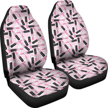Load image into Gallery viewer, Pink Lipstick Makeup Car Seat Covers