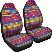 Load image into Gallery viewer, Colorful Mexican Southwestern Style Pattern Car Seat Covers Boho Ethnic Aztec