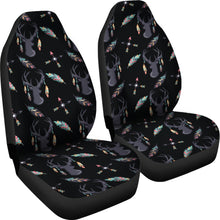 Load image into Gallery viewer, Boho Deer Feathers and Arrow Seat Covers