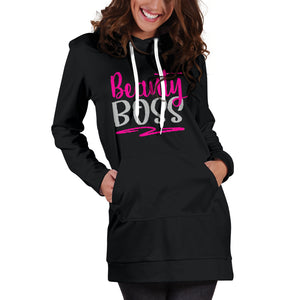 Beauty Boss Hoodie Dress Hot Pink Makeup Mary Kay Direct Sales Avon