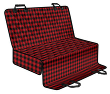 Load image into Gallery viewer, Red Buffalo Plaid Back Seat Matching
