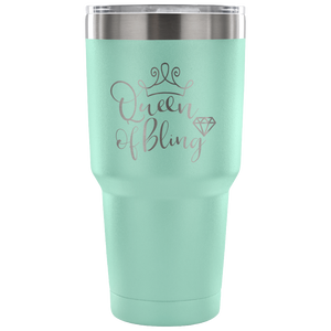 Queen Of Bling Coffee Mug Tumbler 5 Colors!