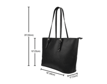 Load image into Gallery viewer, Goal Digger Tote Bags 6 Color Choices Vegan Leather Zipper Closure
