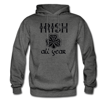 Load image into Gallery viewer, Irish All Year Unisex Hoodie - charcoal gray