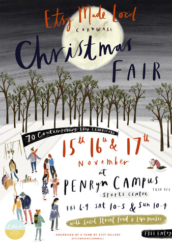 Supporting local independent makers this Christmas by Katy Pillinger Designs