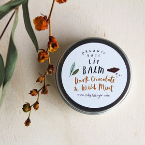 Dark Chocolate & Wild Mint Lip Balm