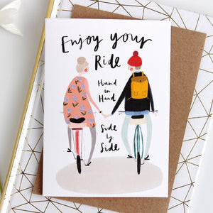 Quirky Love Card For Couples
