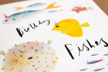 Puffer Fish Funny illustrated greetings card