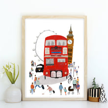 London City Giclée Print
