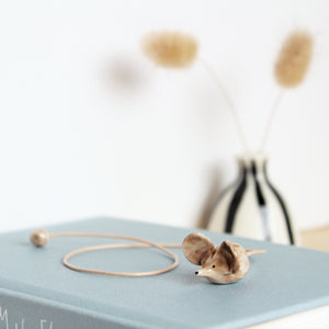 Ceramic Shrew Bookmark