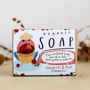 Pomegranate & Mint Organic Soap