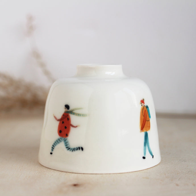 Ceramic Walkers Bud Vase