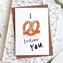 Pretzel I Love You Card