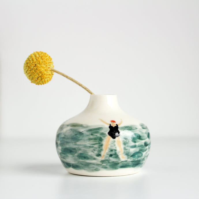 Mini  Wild Swimmer Stem Vase